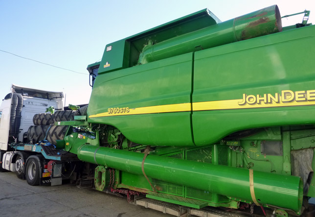 Import Agricultural Machinery